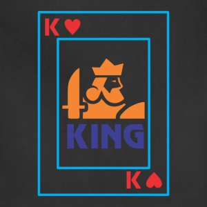 KING playing card - Adjustable Apron