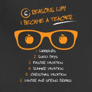 6 reasons why i became a teacher - Adjustable Apron