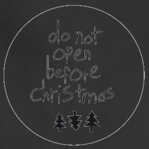 do not open before xmas - Adjustable Apron