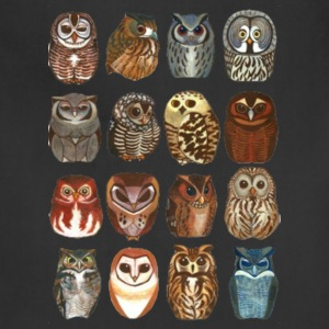 16 Random Owls - Adjustable Apron