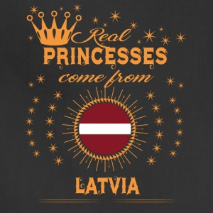 love princesses come from LATVIA - Adjustable Apron