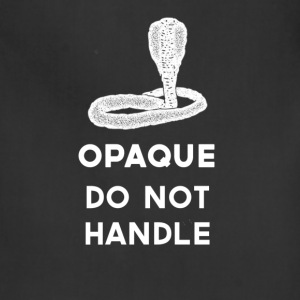 Opaque Do Not Handle - Adjustable Apron
