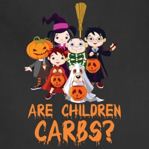 Are Children Carbs Halloween - Adjustable Apron
