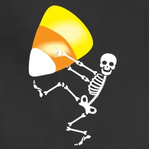 skeleton candy corn - Adjustable Apron