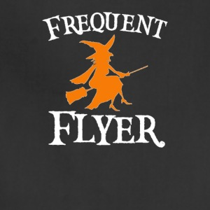 Frequent Flyer T-Shirt Perfect Halloween - Adjustable Apron