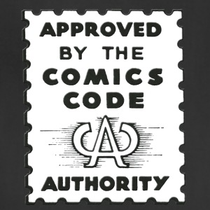 Approved by the Comics Code Authority - Adjustable Apron
