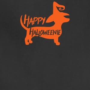 Happy Halloweenie Dachsund Dog - Adjustable Apron
