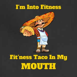 Taco Tee Fitness Taco In My Mouth - Adjustable Apron