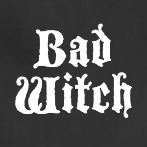 Bad witch shirts- halloween gifts - Adjustable Apron