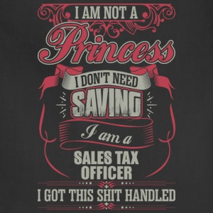 I Am A Sales Tax Officer - Adjustable Apron