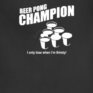 Beer Pong Champion - Adjustable Apron