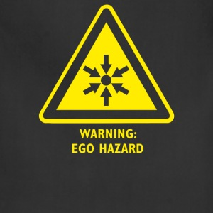 Ego Hazard Warning Sign - Adjustable Apron