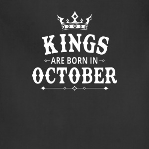 KINGS Are Born In October - Adjustable Apron