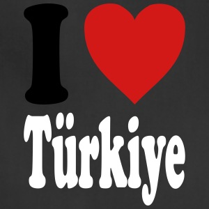 I love Tuerkiye / Turkey (variable colors!) - Adjustable Apron