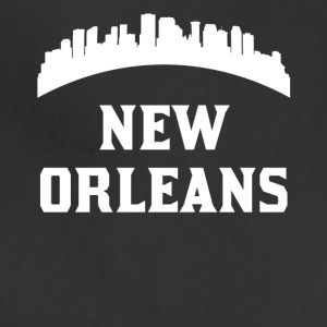 Vintage Style Skyline Of New Orleans LA - Adjustable Apron
