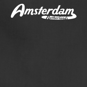 Amsterdam Netherlands Vintage Logo - Adjustable Apron