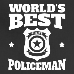 World's Best Policeman Graphic - Adjustable Apron