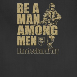 Be a Man Among Men Rhodesian Army Recruitment - Adjustable Apron