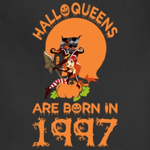 Halloqueens Are Born In 1997 - Adjustable Apron