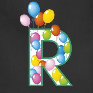 letter R ballons - Adjustable Apron