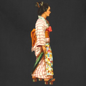 Traditional japanese Woman - Adjustable Apron