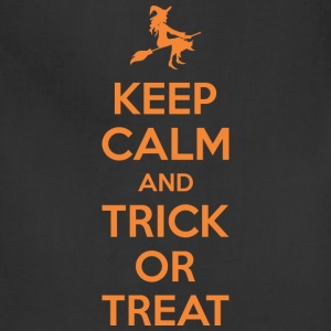 Keep Calm And Trick Or Treat Halloween - Adjustable Apron
