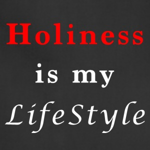Holiness is my lifestyle - Adjustable Apron