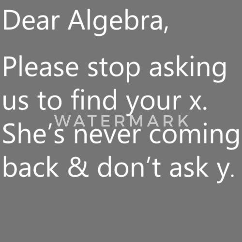Math Funny Quotes Sarcastic Puns Problem Humor Apron Spreadshirt