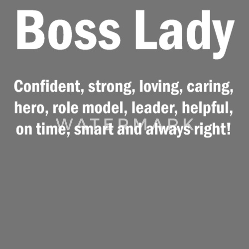Boss Lady English Quotes Mom Wife Mother S Apron Spreadshirt