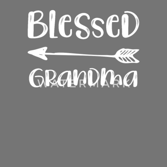 Grandparents Day Blessed Grandma Quote Love Apron   Spreadshirt
