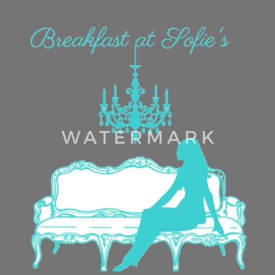 Breakfast at Sofie's logo (tiffany blue) Apron | Spreadshirt