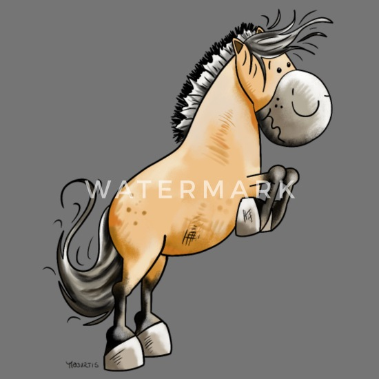 Funny Pony Animal Crazy Horse Lady Stars Chefs Apron
