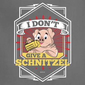 I Don't Give A Schnitzel German Beer Oktoberfest - Adjustable Apron