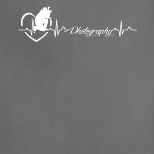 Photography Heartbeat Shirt - Adjustable Apron