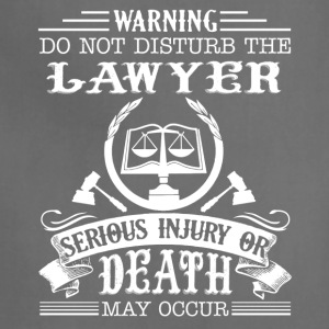 Lawyer Tee Shirt - Adjustable Apron