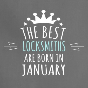 Best LOCKSMITHS are born in january - Adjustable Apron