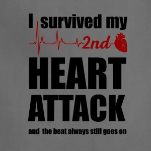 I survived my second Heart Attack - Adjustable Apron