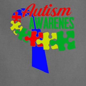 Autism Awareness Ribbon Tshirts - Adjustable Apron