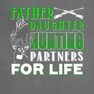 Father And Daughter Hunting Partners Shirt - Adjustable Apron