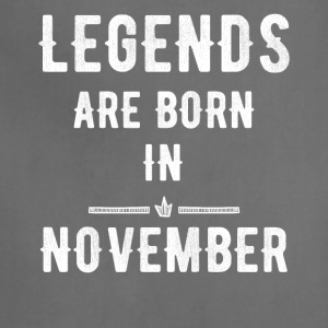 Legends are born in november - Adjustable Apron