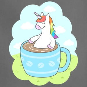 Unicorn Coffee Gift Shirt High Quality - Adjustable Apron