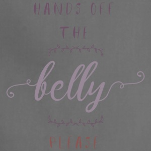 Hands Off The Belly Please - Adjustable Apron