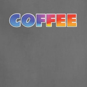 rainbow coffee single - Adjustable Apron