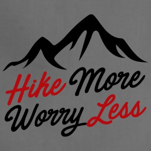 hike more worry less - Adjustable Apron