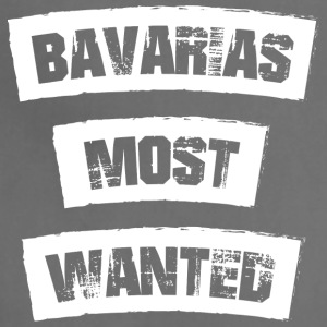 Bavarias most Wanted! Funny! - Adjustable Apron