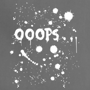 Ooops paint splatter - Adjustable Apron