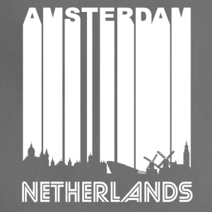 Retro Amsterdam Skyline - Adjustable Apron