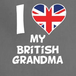 I Heart My British Grandma - Adjustable Apron