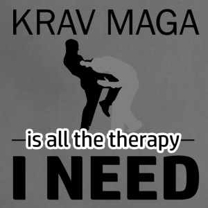 Krav Maga is my therapy - Adjustable Apron