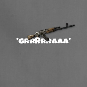 Ak47 GRRRRAAA Design - Adjustable Apron